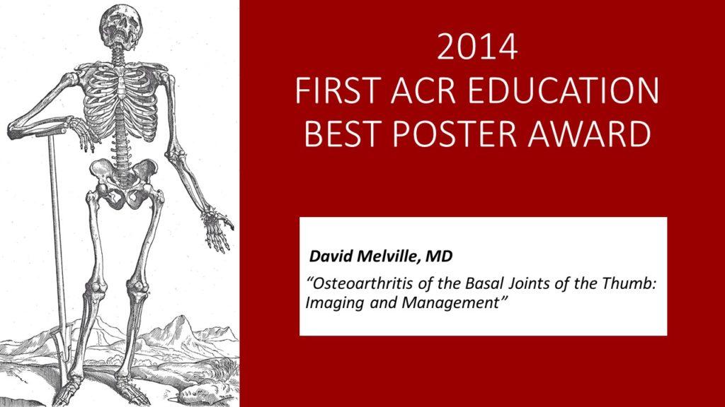 2014 ACR AWARD